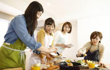 自宅で料理教室